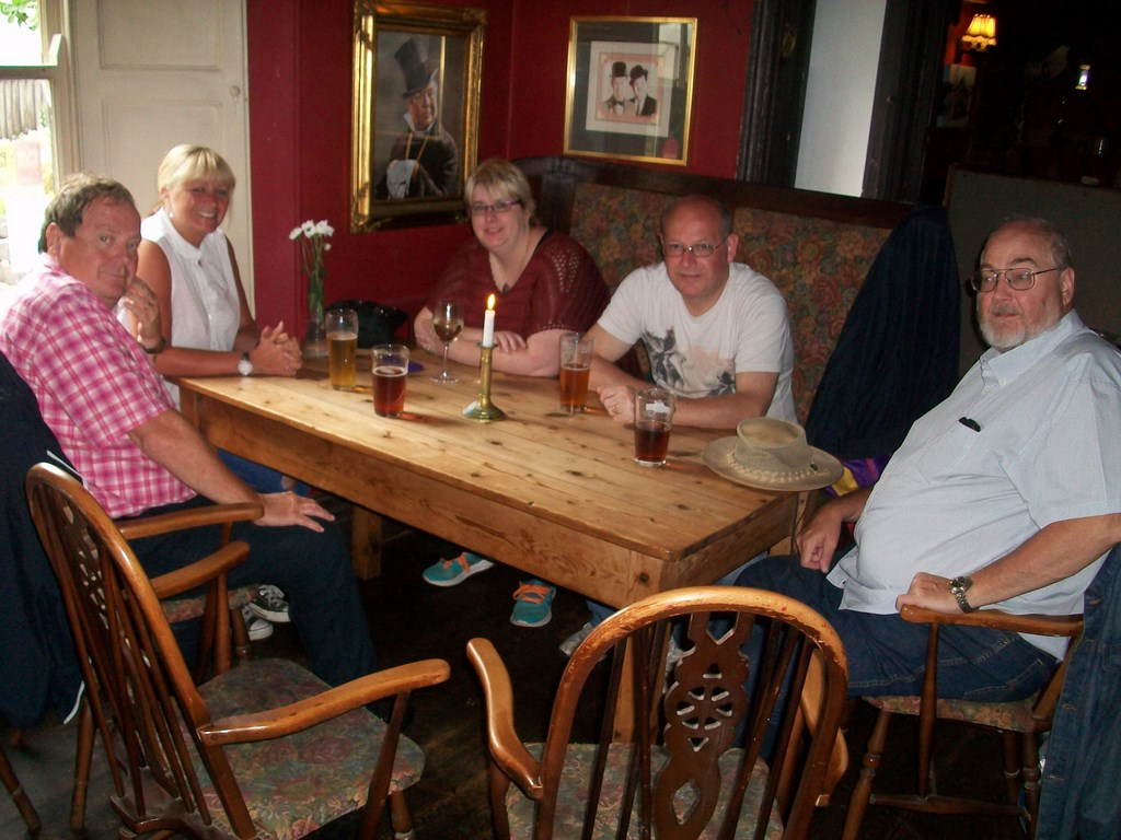 Tower Inn, Slapton AUG 16 with Beaver, Charmaine, Phil & Mandy