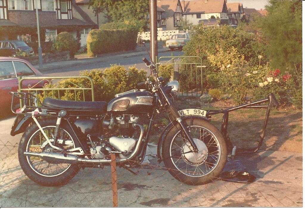 Daves T110 in 1977