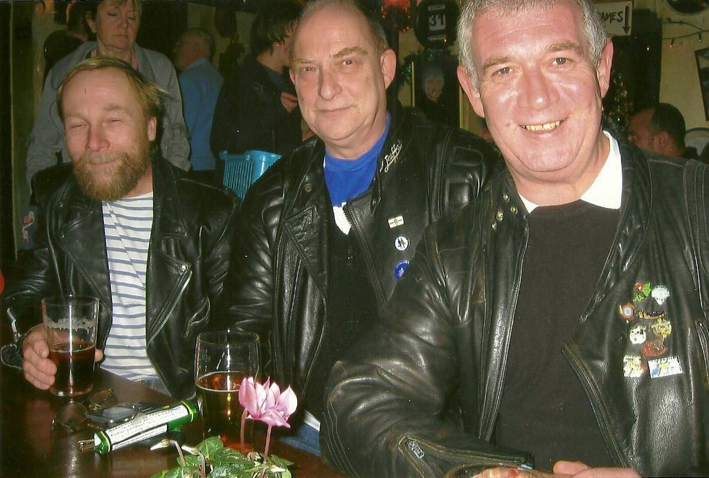 Pippin, Paul and Dave, New year 2009/10.